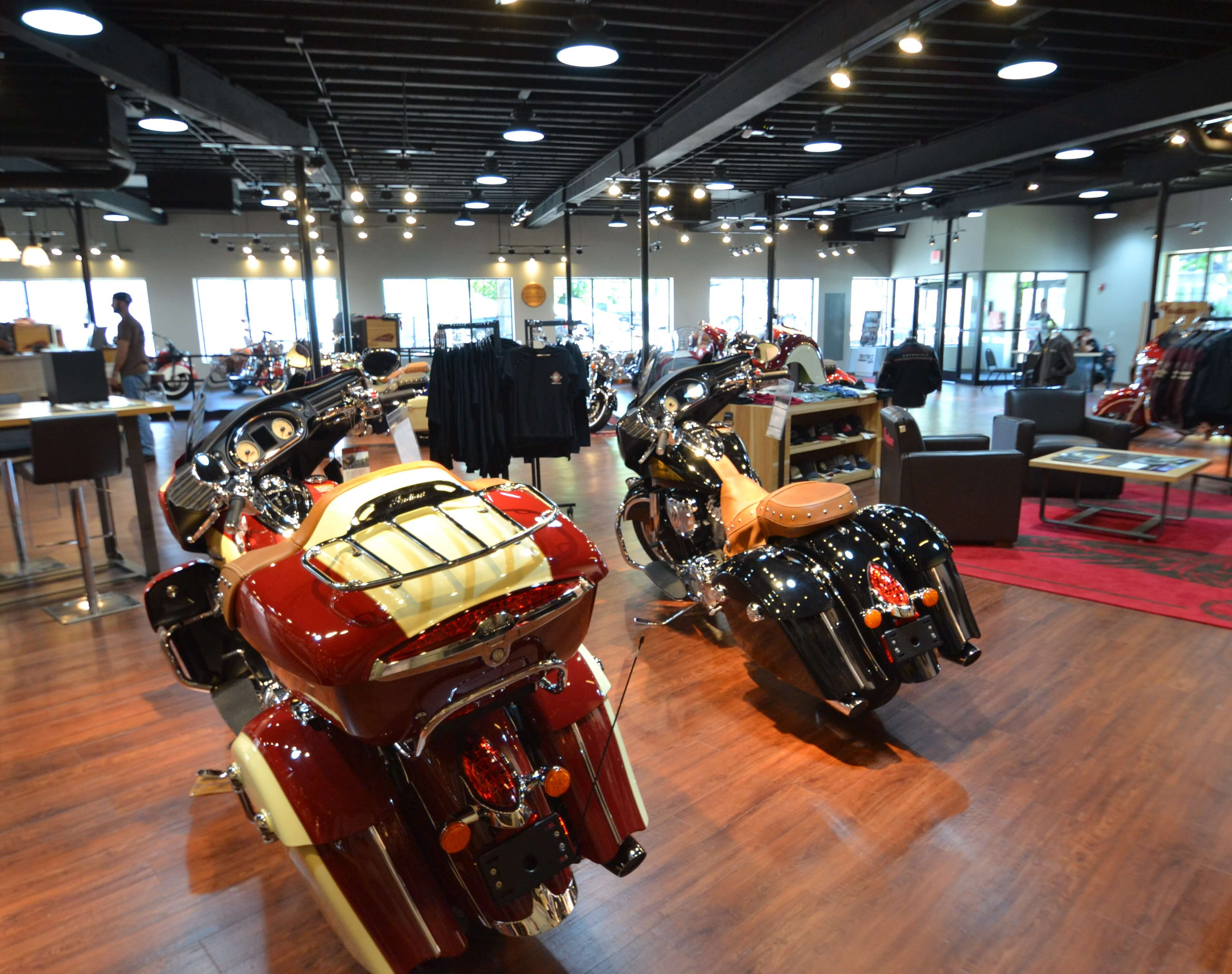 Moms Motorcycles Of Manchester Northpoint Construction